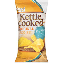 Great Value Kettle Cooked Reduced Fat Original Potato Chips