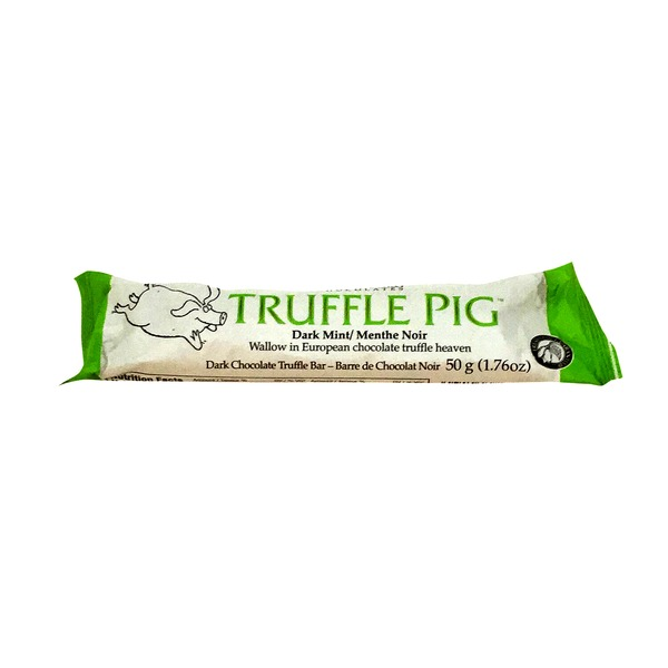 Hagensborg Dark Chocolate Mint Truffle Pig Bar