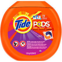 Tide Pods Laundry Detergent 72ct (Choose Your Scent)