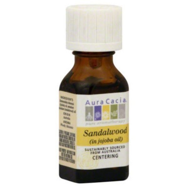 Aura Cacia Sandalwood, in Jojoba Oil