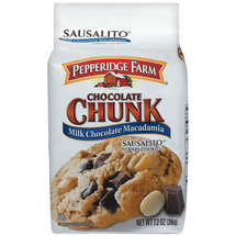 Pepperidge Farm Chocolate Chunk Sausalito Milk Chocolate Macadamia Cookies