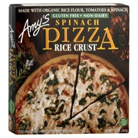 Amy's Spinach Pizza with Rice Crust