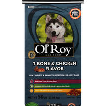 Ol' Roy T-Bone & Chicken Flavor Dog Food