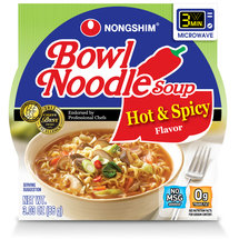 Nong Shim Hot and Spicy Bowl Noodle Soup