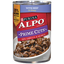 Purina ALPO Prime Cuts With Beef in Gravy Dog Food