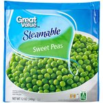 Great Value Steamable Sweet Peas