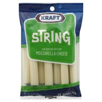 Kraft Natural Cheese Snacks Mozzarella String Cheese
