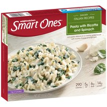 Weight Watchers Smart Ones Classic Favorites Pasta With Ricotta & Spinach