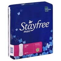 Stayfree Super Maxi Pads
