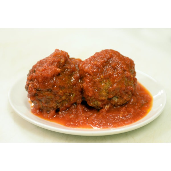 Meatballs With Marinara Sauce