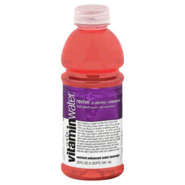 Glaceau Vitaminwater Revive Fruit Punch