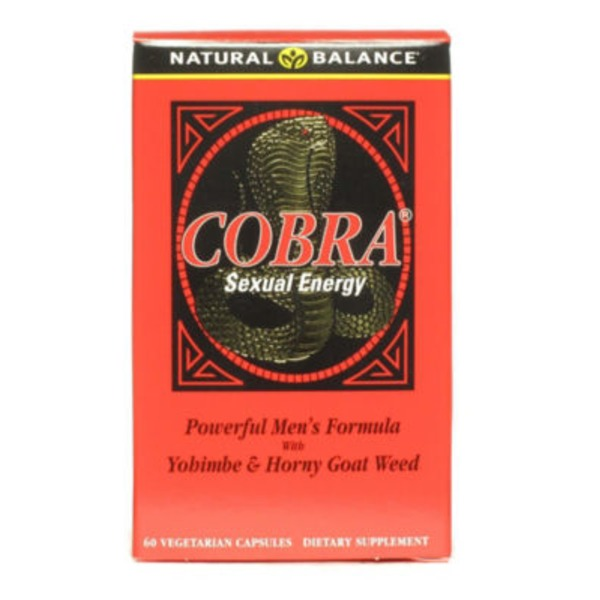 Natural Balance Cobra Sexual Energy Vegetarian Capsules