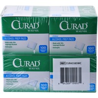 Curad Sterile Medium Alcohol Prep Pads