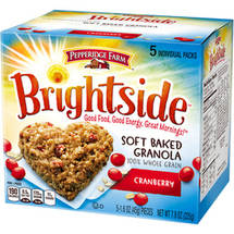 Pepperidge Farm Brightside Cranberry Soft Baked Granola Cookies