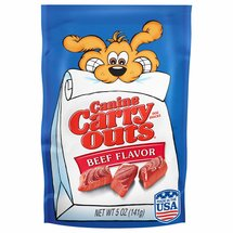 Canine Carry-Outs Beef Flavor Dog Snacks