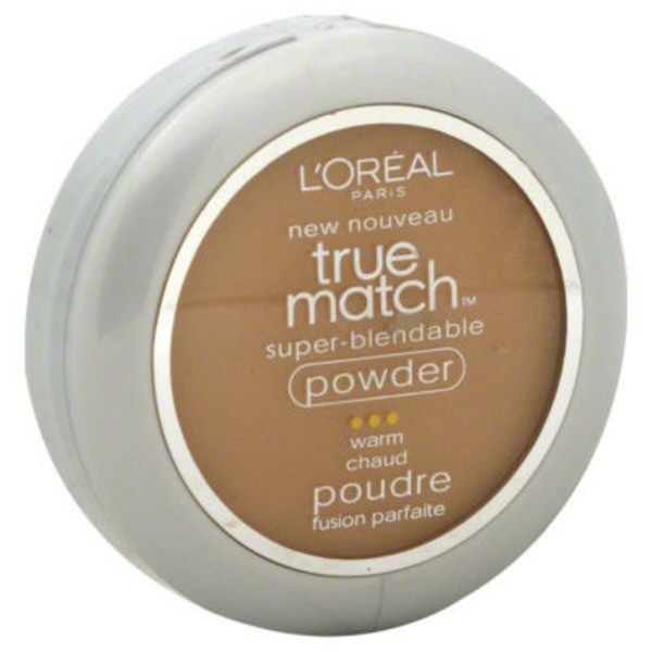 True Match Super-Blendable Powder W7 Caramel Beige Foundation
