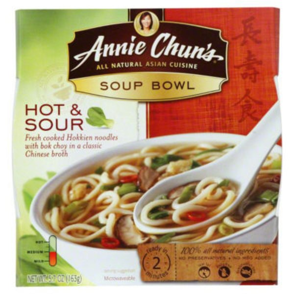 Annie Chun's. Hot & Sour Soup Bowl