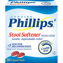 Phillips Liquid Gels Stool Softener