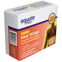 Equate Back & Hip Heat Wraps