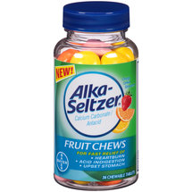 Alka-Seltzer Antacid Fruit Chews Chewable Tablets