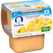 Gerber 2nd Foods Hawaiian Delight Dessert 3.5 Oz