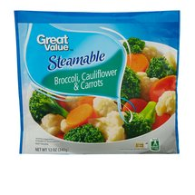 Great Value Steamable Broccoli Cauliflower & Carrots