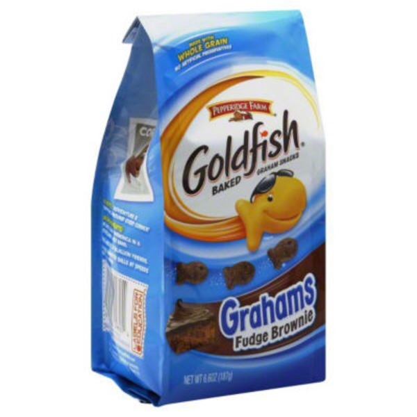 Pepperidge Farm Goldfish Goldfish Fudge Brownie Baked Graham Snacks