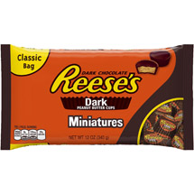 Reese's Miniatures Dark Peanut Butter Cups