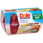 Dole Sugar Free Mixed Fruit In Cherry Gel