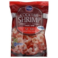 Kroger Cocktail Shrimp, Cooked, Peeled and Tail-On