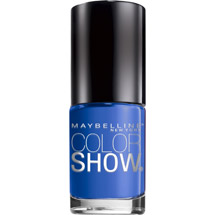 Maybelline Color Show Nail Lacquer Blue Bombshell