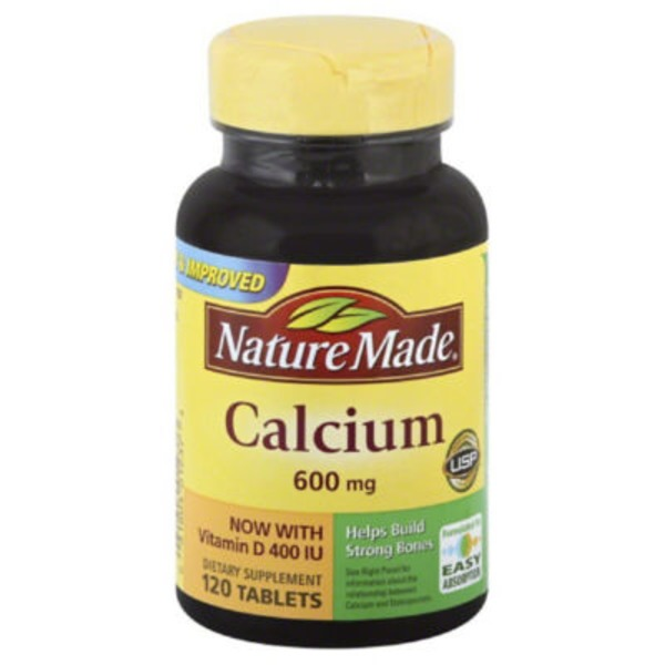 Nature Made Calcium 600mg - 120 CT