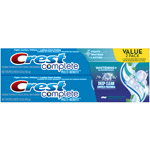 Crest Complete Whitening Plus Deep Clean Effervescent Mint Toothpaste