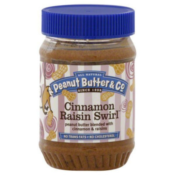 Peanut Butter & Co. All Natural Peanut Butter & Co. Cinnamon Raisin Swirl Peanut Butter 16oz