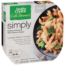 Healthy Choice Cafe Steamers Simply Lemon Herb Chicken
