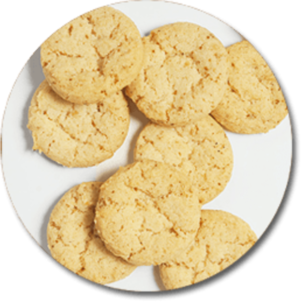 Wackym's Kitchen Lemon Butter Cookies