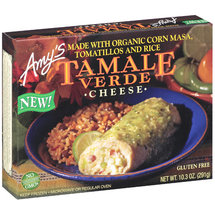 Amy's Cheese w/Organic Masa Tomatillos & Rice Tamale Verde
