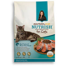 Rachael Ray Nutrish Natural Dry Cat Food Salmon & Brown Rice Recipe