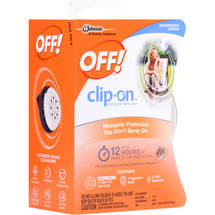 OFF! Mosquito Repellent Clip On Fan 4 Piece Set