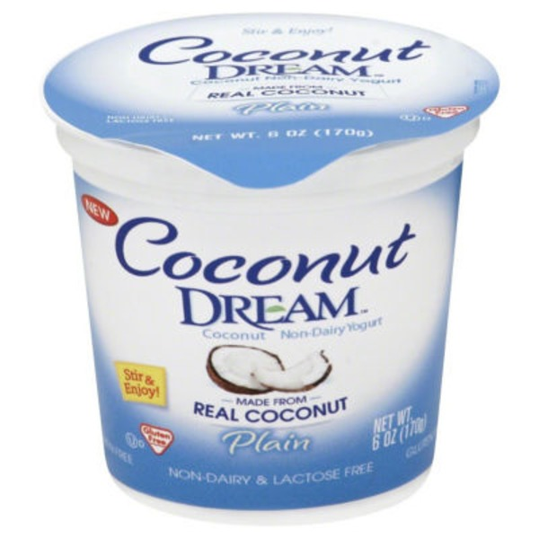 Coconut Dream Plain Coconut Non-Dairy Yogurt