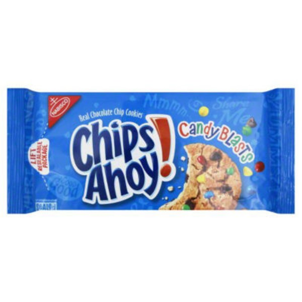 Chips Ahoy! Candy Blasts Chocolate Chip Cookies