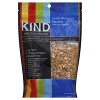 Kind Healthy Grains Vanilla Blueberry with Flax Seeds Clusters