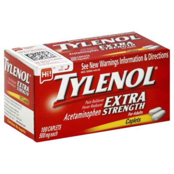 Tylenol adult recommended dose