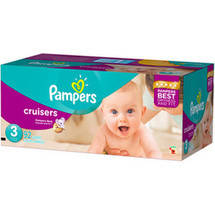 Pampers Cruisers Diapers Size 3