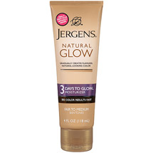 Jergens Natural Glow 3 Days To Glow Moisturizer Fair to Medium