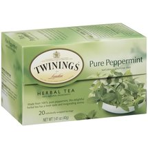 Twinings of London Pure Peppermint Caffeine Free Herbal Tea Bags
