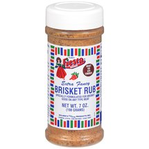 Bolner's Fiesta Brand Brisket Rub Seasoning With Tenderizer