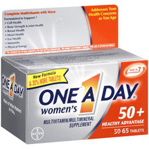 One a Day Women's 50 Healthy Advantage Multivitamin/Multimineral Supplement