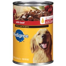 Pedigree Meaty Ground Dinner w/Beef Dog Food