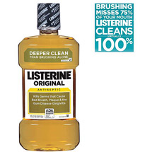 Listerine Original Antiseptic Adult Mouthwash